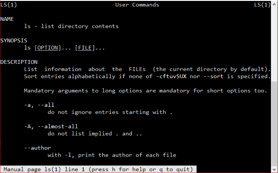33 useful linux commands to get most things done in terminal rh sdatic com linux terminal commands manual linux commands documentation