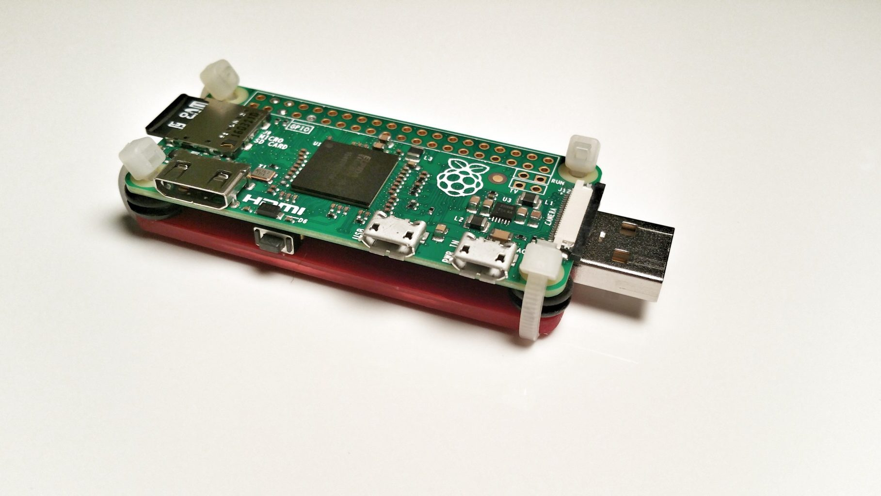 Raspberry PI Zero Dongle With Power Switch