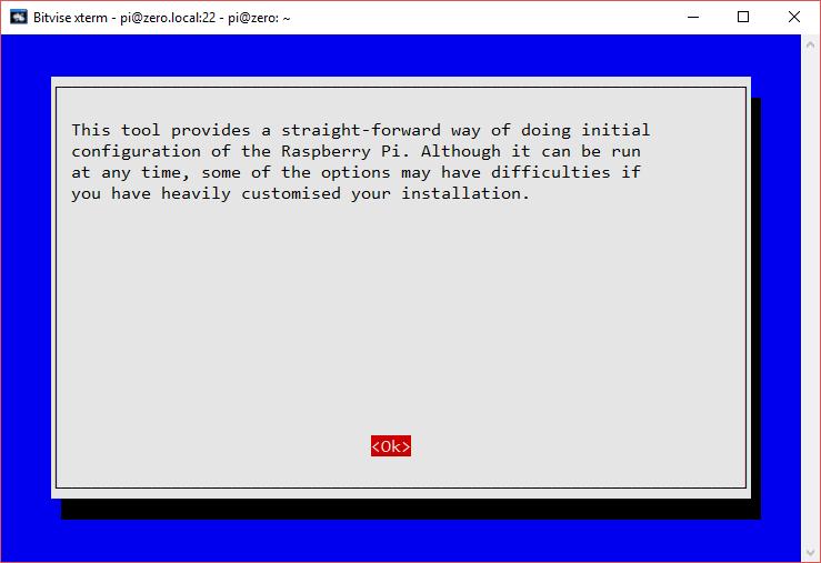 Raspberry Pi Initial Configuration Using Raspi-Config