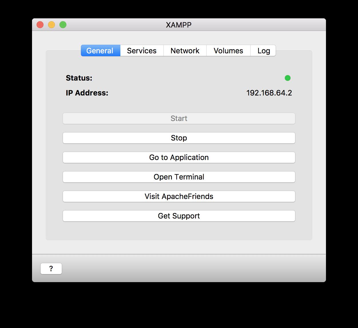 XAMPP On Mac OSX | sdatic com